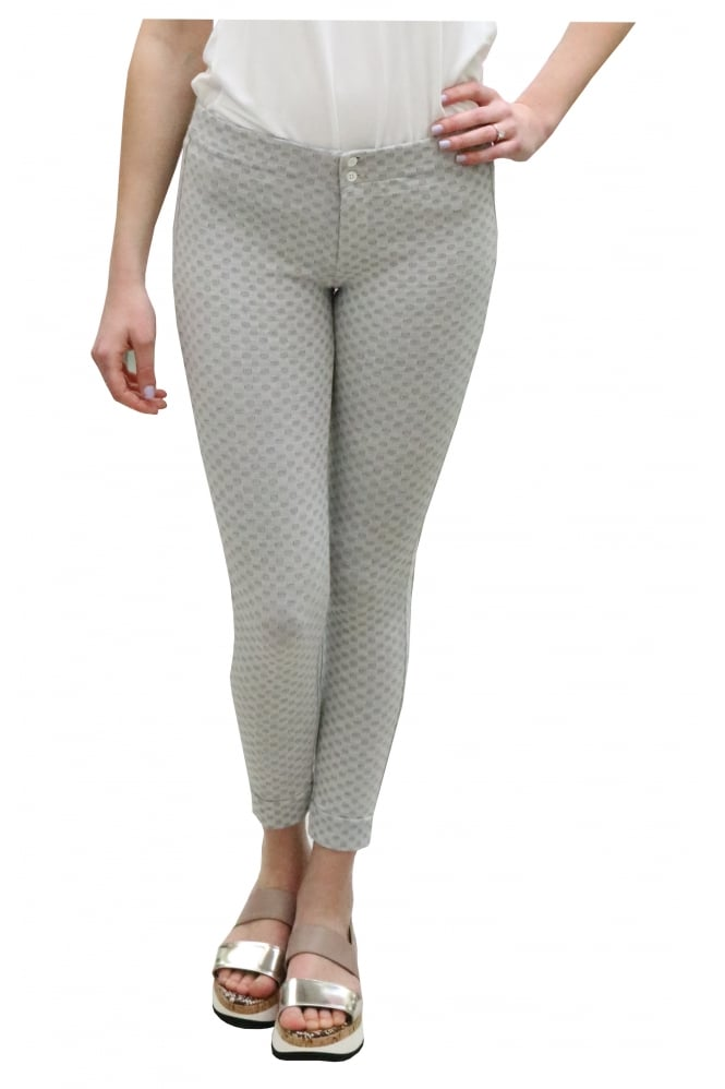 Transit Patterned Skinny Legging Trouser CFDTDB-0202S