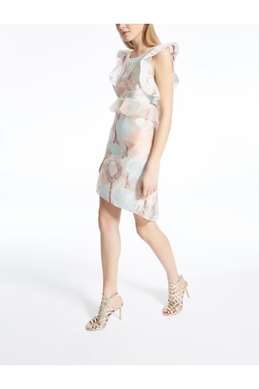 Beate Floral Frill Dress