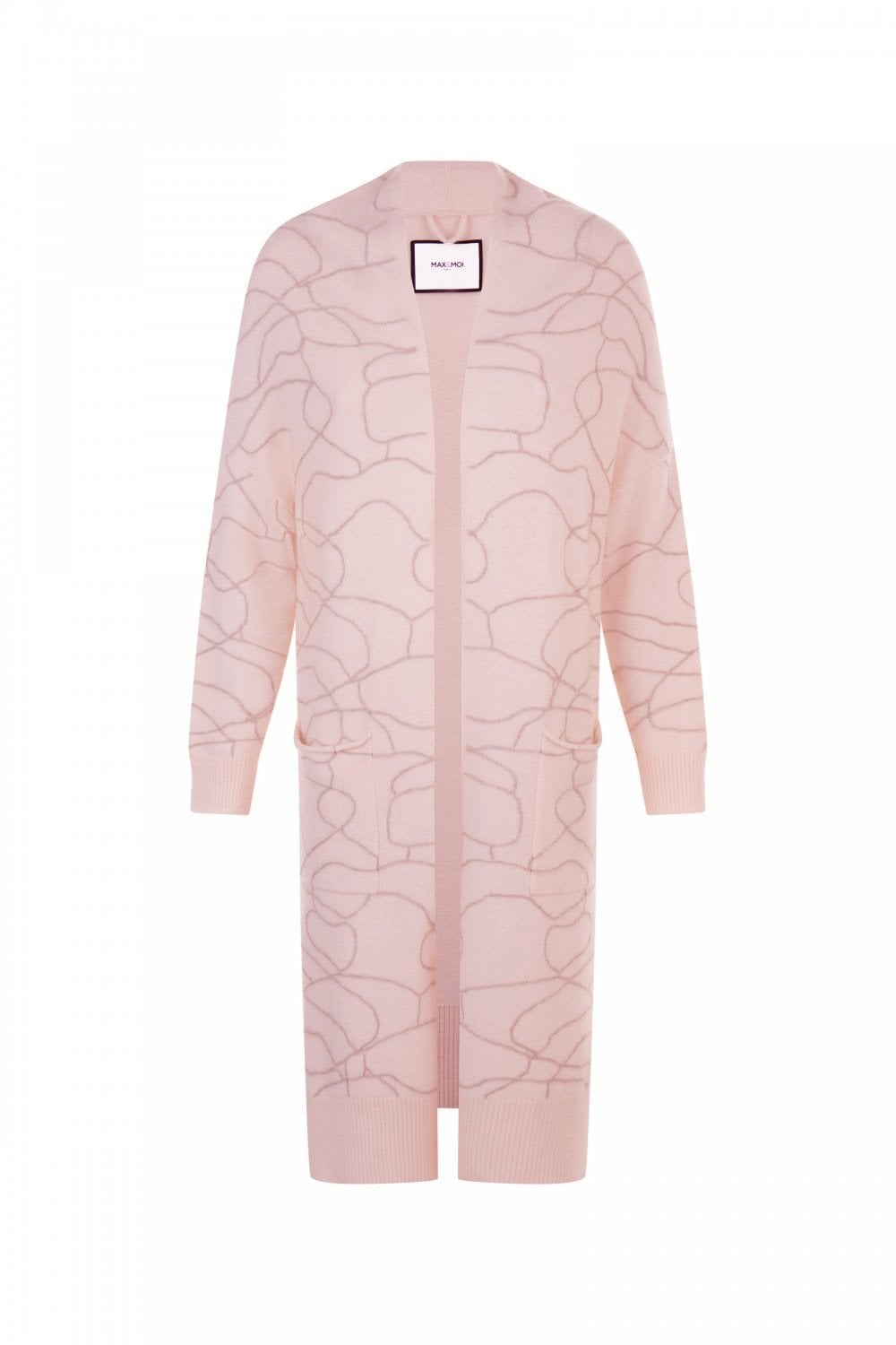 225ca94c1a5158 MAX   MOI Women s Max   Moi Samson Cardigan in Pink - WOMAN from ...