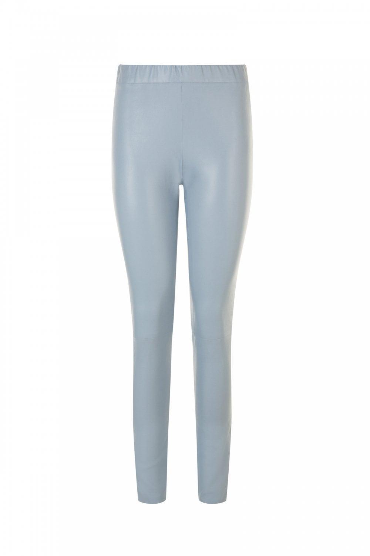 b03a8a040e8ba4 MAX   MOI Women s Max   Moi Santiago Leather Trouser in Blue - WOMAN ...